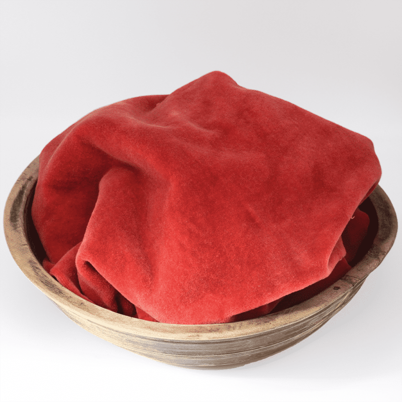 Scarlet Hand dyed wool by Blackberry Primitives
