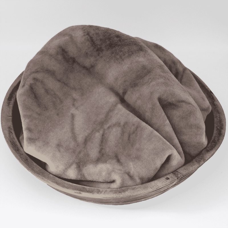Smokey Taupe Hand dyed wool by Blackberry Primitives