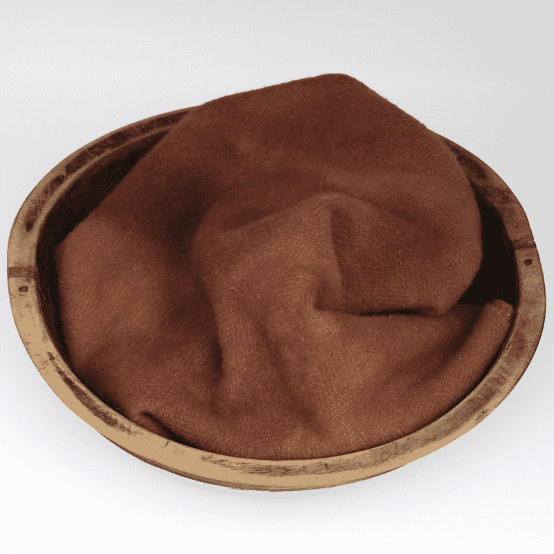 Terracotta Hand dyed wool by Blackberry Primitives
