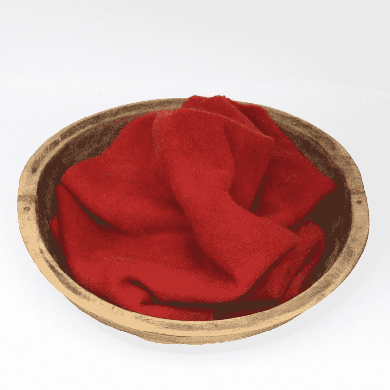 Tomato Hand dyed wool by Blackberry Primitives