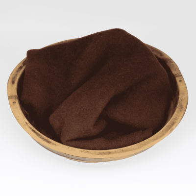 Chocolate Hand dyed wool by Blackberry Primitives