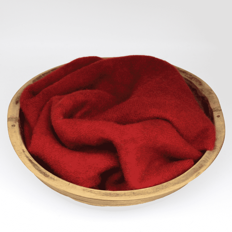 Crimson Hand dyed wool by Blackberry Primitives