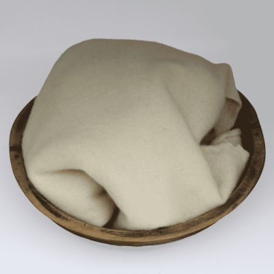 Ivory Hand dyed wool by Blackberry Primitives