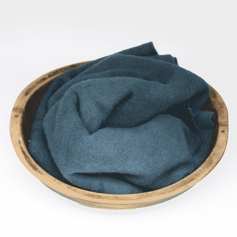 Shaker Blue Hand dyed wool by Blackberry Primitives